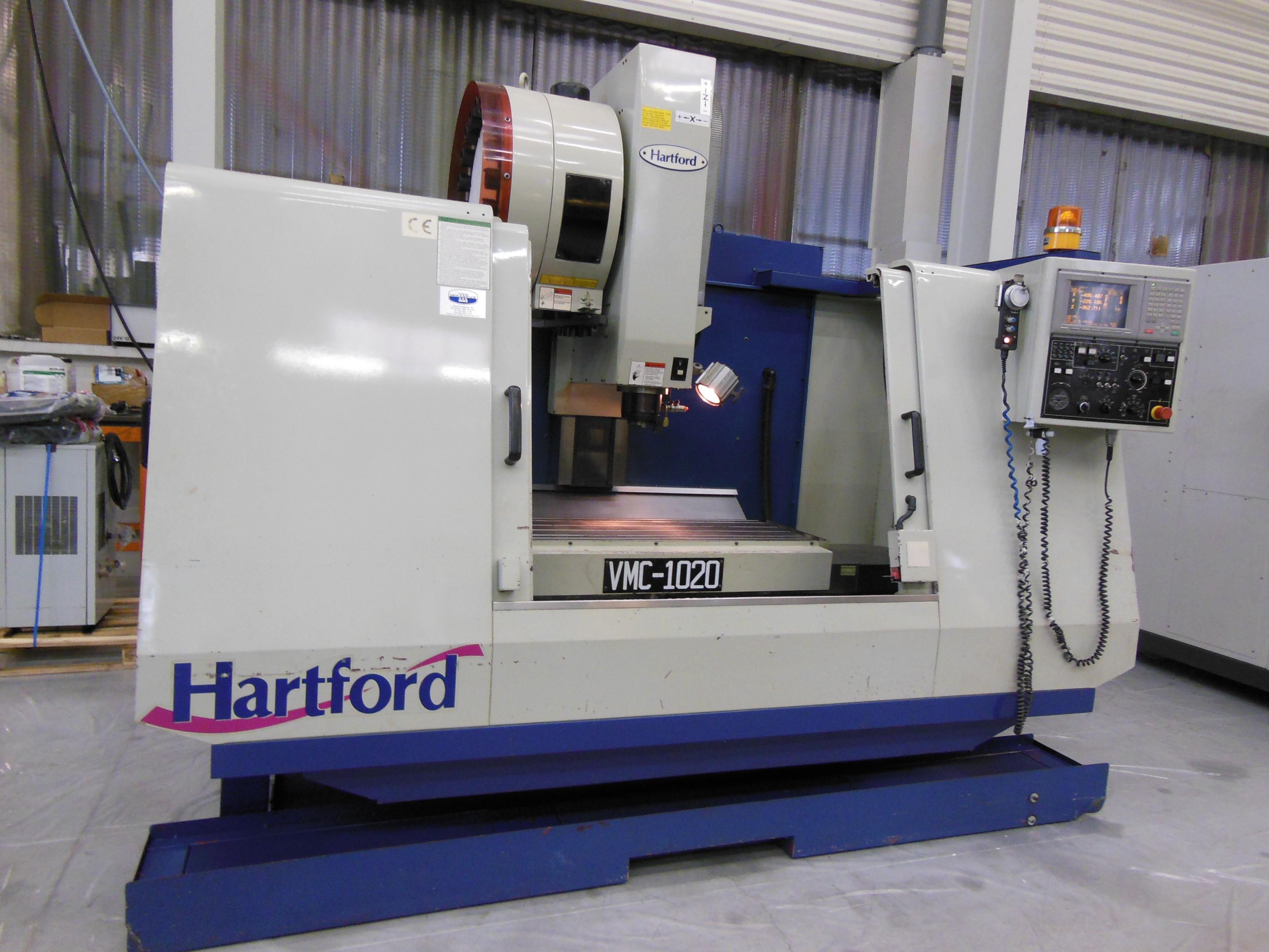 Vertical Machining Centre 3 Axis Hartford Vmc 1020ag Www